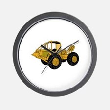 Skidder Wall Clock