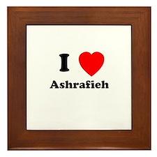 I Heart Ashrafieh Framed Tile