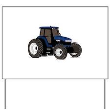Farm Tractor Yard Sign