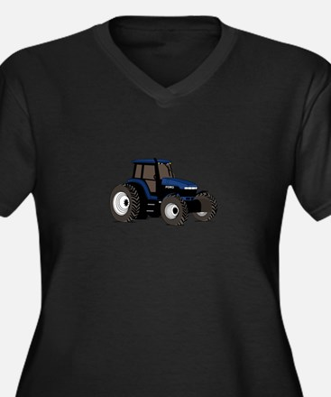 Farm Tractor Plus Size T-Shirt