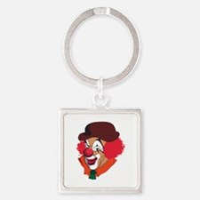 Clown Face Keychains