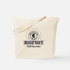 Bigfoot Field Researcher (Distressed) Tote Bag