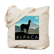 Blue Hills Alpaca Tote Bag