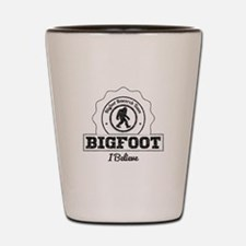 Bigfoot I Believe (Distressed) Shot Glass