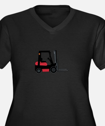 Forklift Plus Size T-Shirt