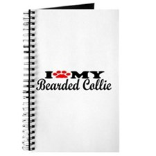Bearded Collie - I Love My Journal