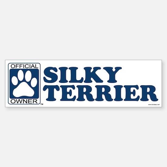 SILKY TERRIER Bumper Bumper Bumper Sticker