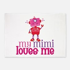 My Mimi Loves Me 5'x7'Area Rug