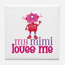 My Mimi Loves Me Tile Coaster