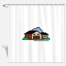 Residential House Shower Curtain