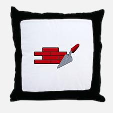 Masonry Logo Throw Pillow