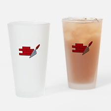 Masonry Logo Drinking Glass