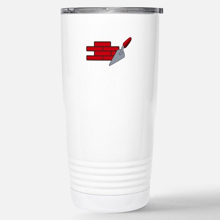 Masonry Logo Travel Mug
