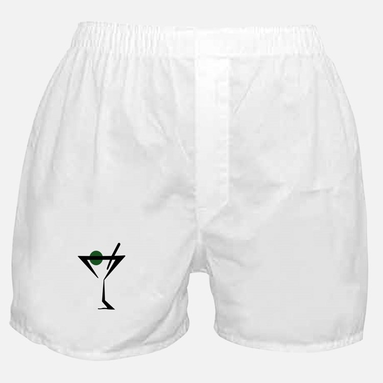 Abstract Martini Glass Boxer Shorts