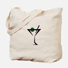 Abstract Martini Glass Tote Bag
