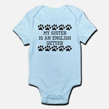 My Sister Is An English Setter (Distressed) Body S