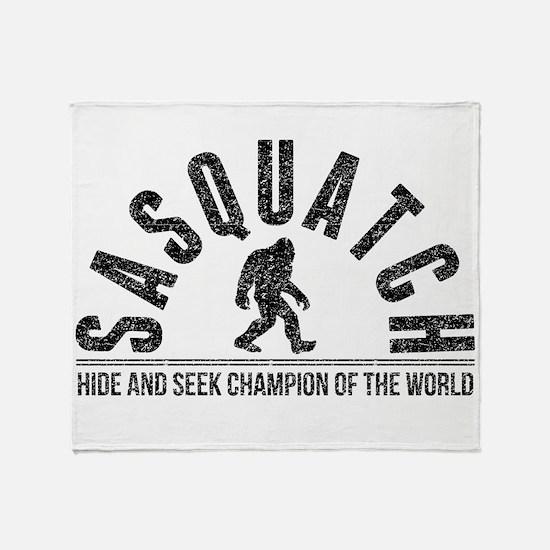 Sasquatch Hide And Seek Champion (Distressed) Thro