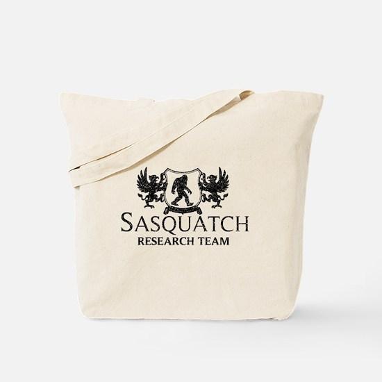 Sasquatch Research Team (Distressed) Tote Bag