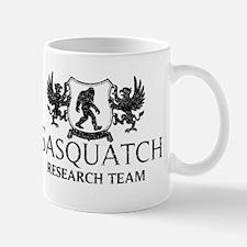 Sasquatch Research Team (Distressed) Mugs
