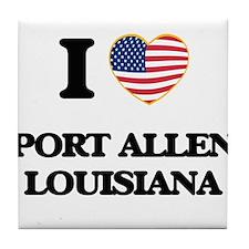 I love Port Allen Louisiana Tile Coaster