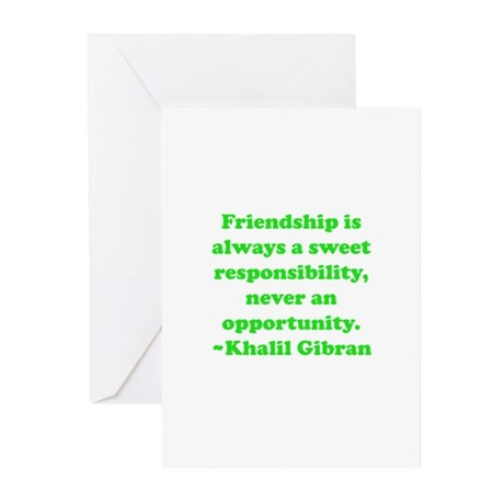 Friendship Greeting Cards (Pk of 20)
