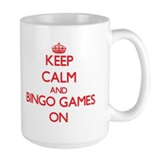 Keep Calm and Bingo Games ON Mugs