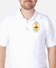 Funny Welcome to Cabin Sign Golf Shirt