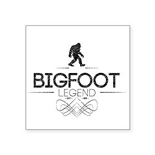 Bigfoot Legend (Distressed) Sticker