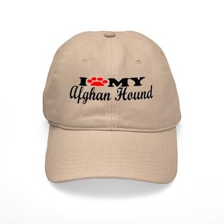 Afghan Hound - I Love My Cap