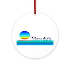 Meredith Ornament (Round)