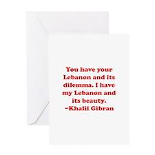 Dilemma Greeting Card