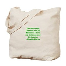 Dilemma Tote Bag