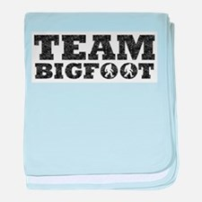 Team Bigfoot (Distressed) baby blanket