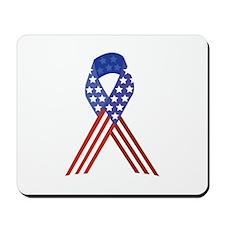 Patriotic Ribbon Mousepad