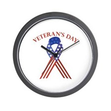 Veterans Day Wall Clock