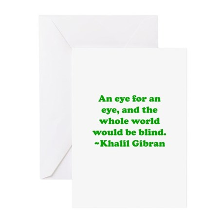 An Eye Greeting Cards (Pk of 20)
