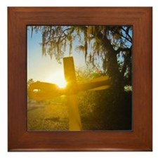 Dawn of Glory Framed Tile