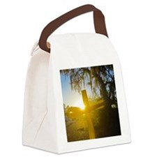 Dawn of Glory Canvas Lunch Bag