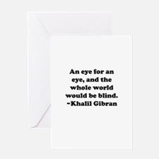 An Eye Greeting Card