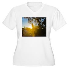 Dawn of Glory Plus Size T-Shirt