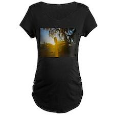 Dawn of Glory Maternity T-Shirt