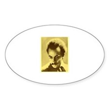 Khalil Gibran Oval Decal
