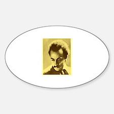 Khalil Gibran Oval Decal