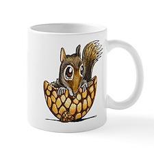 Nutshell Squirrel Mugs