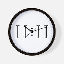 11-11 T Wall Clock