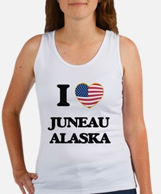 I love Juneau Alaska Tank Top