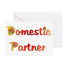 Domestic Partner Greeting Card