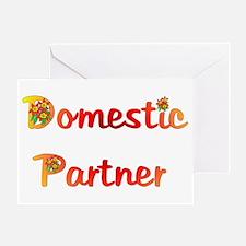 Domestic Partner Greeting Card