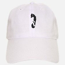 Bigfoot Footprint (Distressed) Baseball Baseball Baseball Cap