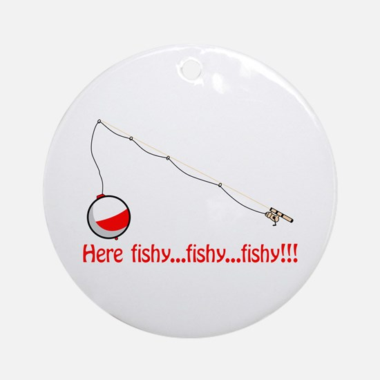 Here fishy Ornament (Round)